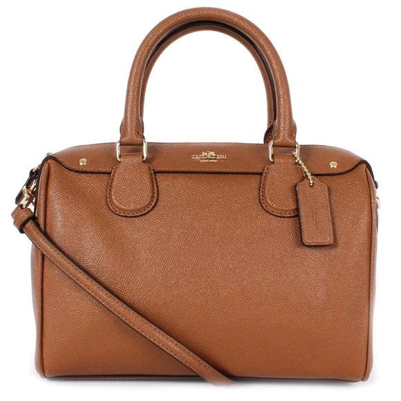 1730c43bac Coach Handbags - FINAL SALE! COACH Leather Mini Bennett Satchel